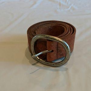 American Eagle Leather Belt Medium
